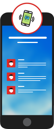 Chat UI Mobile Screen